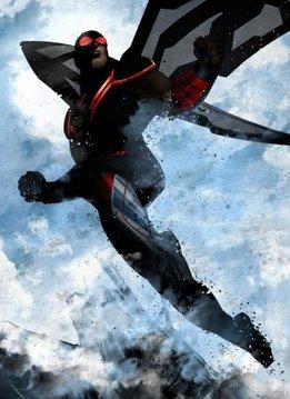Marvel Falcon | Marvel Dark Edition | Displate