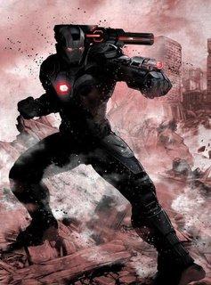 Marvel War Machine | Marvel Dark Edition | Displate