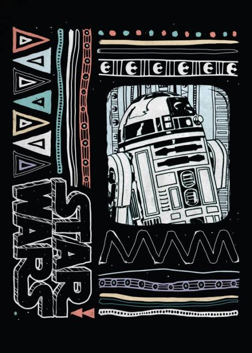 Star Wars R2-D2 Pattern  |  Space Patterns