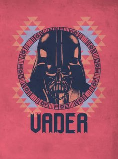 Star Wars Vader - Space Patterns - Displate