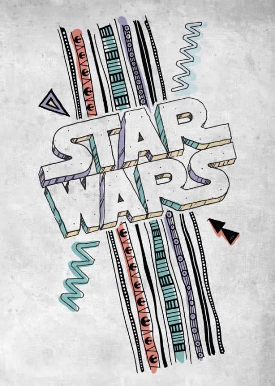 Star Wars Star Wars - Space Patterns - Displate