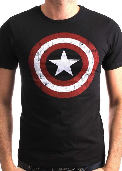 Marvel America Shield Washed v2 | T-Shirt