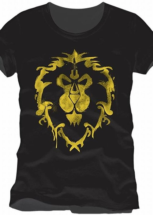 Warcraft Alliance Logo Gold | T-Shirt