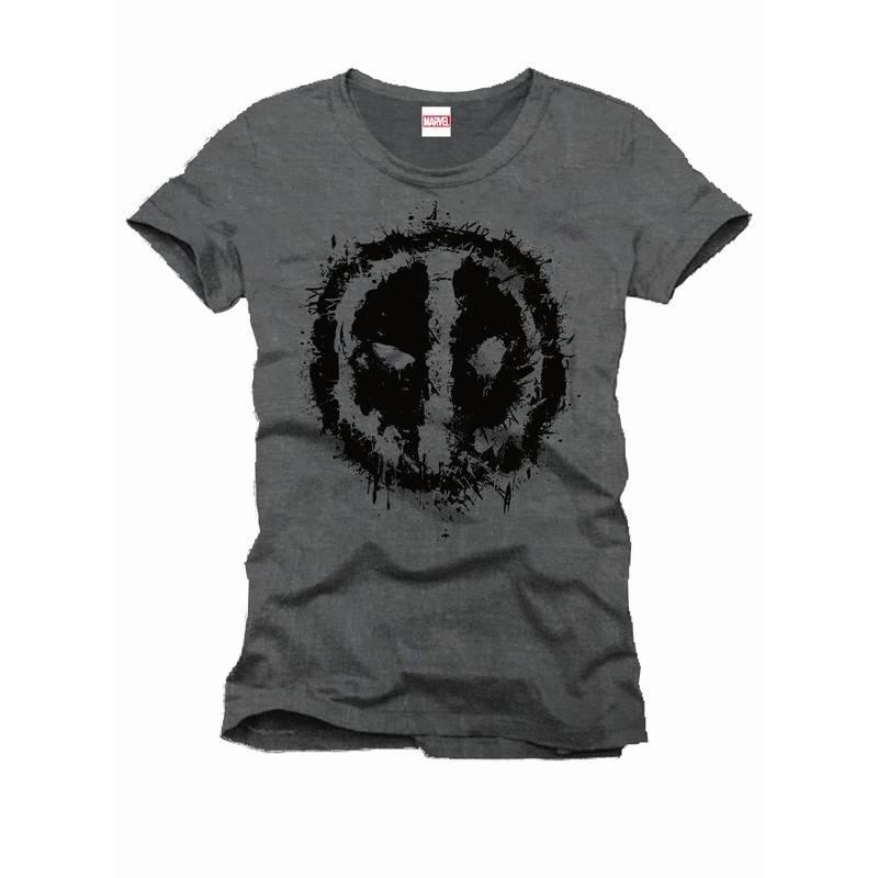 Marvel Deadpool Logo Splash - T-Shirt