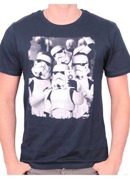 Star Wars Star Wars Stormtroopers Selfie (4) - T-Shirt