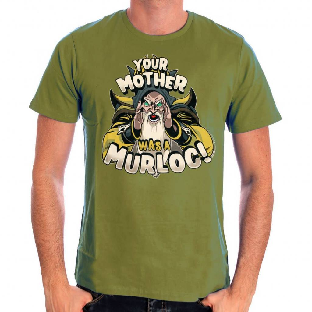 Blizzard World of Warcraft - Your mother is a murloc!