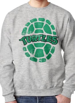 Ninja Turtles Turtles green shell logo - Sweater