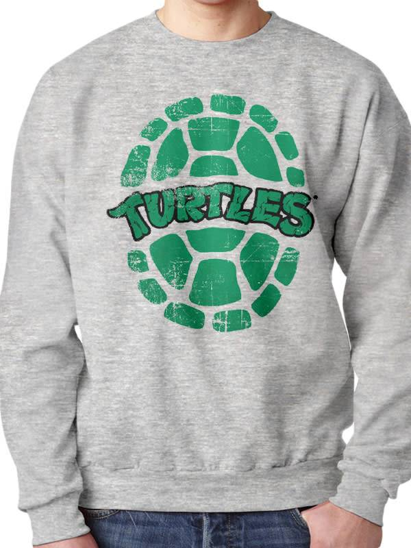 Ninja Turtles Ninja Turtles green shell logo - Sweater