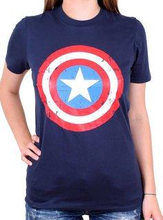 Marvel Captain America Shield - Female - T-Shirt