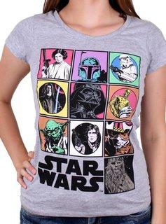 Star Wars Star Wars Icons - Female - T-Shirt