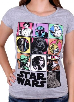 Star Wars Star Wars Icons - Female - T-Shirt