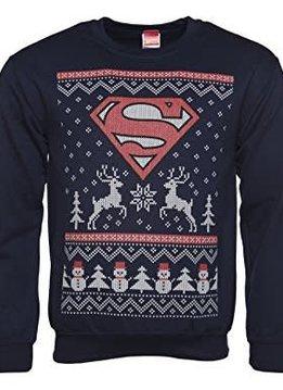 DC Comics Superman Christmas Fair Isle - Sweater