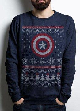 DC Comics Captain America Christmas - Sweater