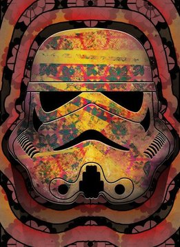 Star Wars Masked Trooper Echo- Displate First Numbered Print