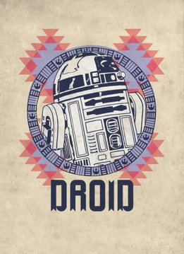 Star Wars R2-D2 Droid - Displate First Numbered Print
