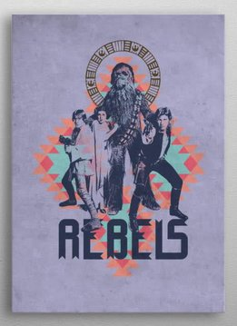 Star Wars Rebels Pattern - Displate First Numbered Print