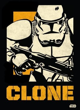 Star Wars Clone Trooper - Star Wars Icons Posters - Displate First Numbered Print