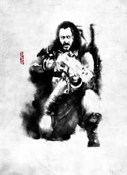 Star Wars Baze Malbus - Star Wars Rogues Artbook - Displate First Numbered Print