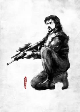 Star Wars Cassian Andor - Rogues Artbook - Displate First Numbered Print