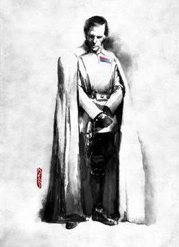 Star Wars Orson Krennic - Star Wars Rogues Artbook - Displate First Numbered Print