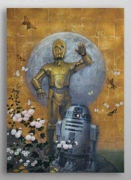 Star Wars Droids - STAR WARS EPICS - Displate First Numbered Print