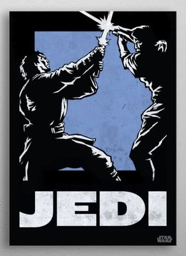 Star Wars Jedi - Star Wars Icons Poster - Displate First Numbered Print
