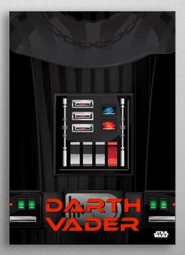 Star Wars Darth Vader - Star Wars Minimalist - Displate First Numbered Print