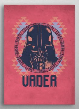 Star Wars Vader - Star Wars Space Patterns - Displate First Numbered Print