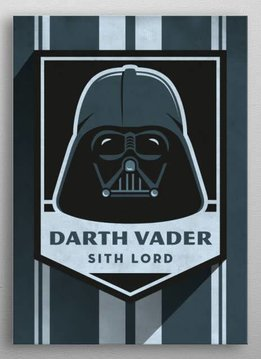 Star Wars Darth Vader - Imperial Badge - Displate First Numbered Print