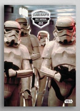 Star Wars Trooper Precision - Star Wars Quotes - Displate First Numbered Print