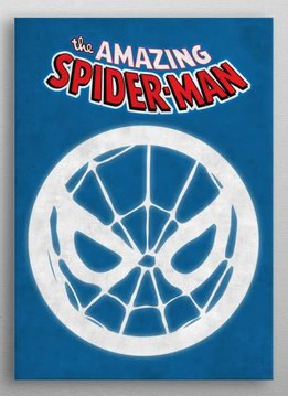 Marvel The Amazing Spiderman - Marvel Emblems - Displate First Numbered Print
