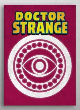 Marvel Doctor Strange - Marvel Emblems - Displate First Numbered Print