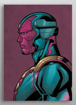 Marvel Vision - Marvel Profiles - Displate First Numbered Print