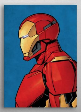 Marvel Iron Man - Marvel Profiles - Displate First Numbered Print