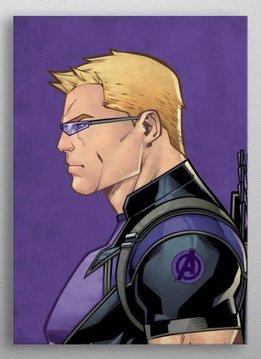 Marvel Hawkeye - Marvel Profiles - Displate First Numbered Print