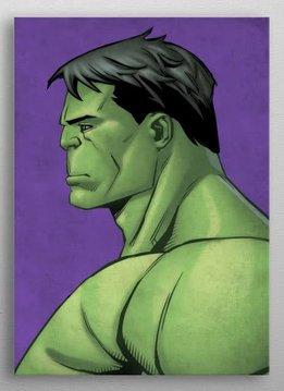 Marvel Hulk - Marvel Profiles - Displate First Numbered Print