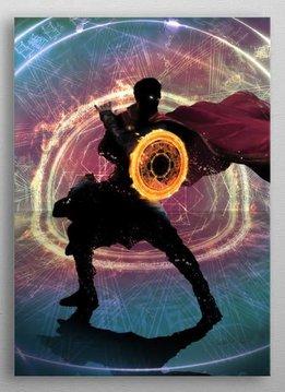 Marvel Sorcerer Supreme - Marvel Dark dimension - Displate First Numbered Print - Pixie