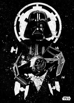 Star Wars Tie Advanced - Star Wars Pilots Displate