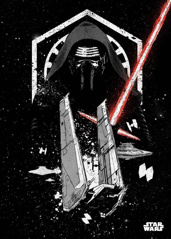 Star Wars Kylo - Star Wars Pilots Displate