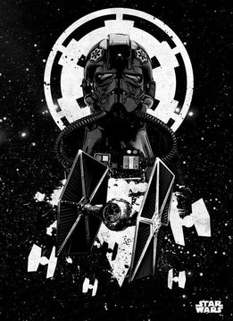 Star Wars Tie Fighter Pilot - Star Wars Pilots Displate