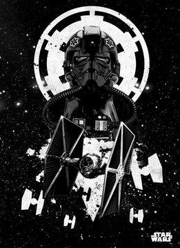 Star Wars Tie Fighter Pilot | Star Wars Pilots | Displate