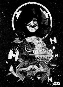 Star Wars Death Star   Star Wars Pilots   Displate