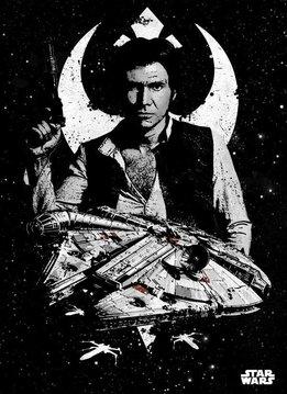 Star Wars Captain Solo - Star Wars Pilots Displate