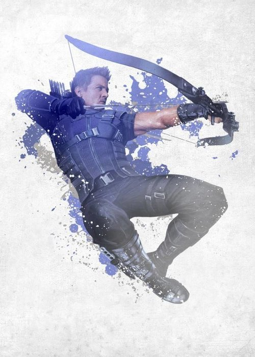 Marvel Hawkeye  | Civil War Red White Blue