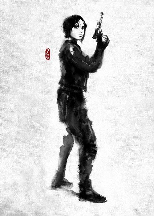 Star Wars Jyn Erso    Rogues Artbook