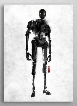 Star Wars K-2SO - Rogue artbook - Displate