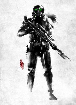 Star Wars Death Trooper | Rogue Artbook | Displate