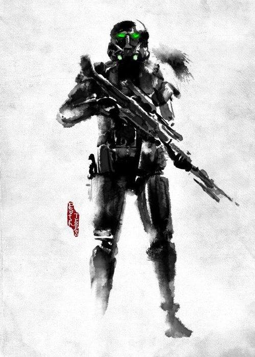 Star Wars Death Trooper  | Rogues Artbook