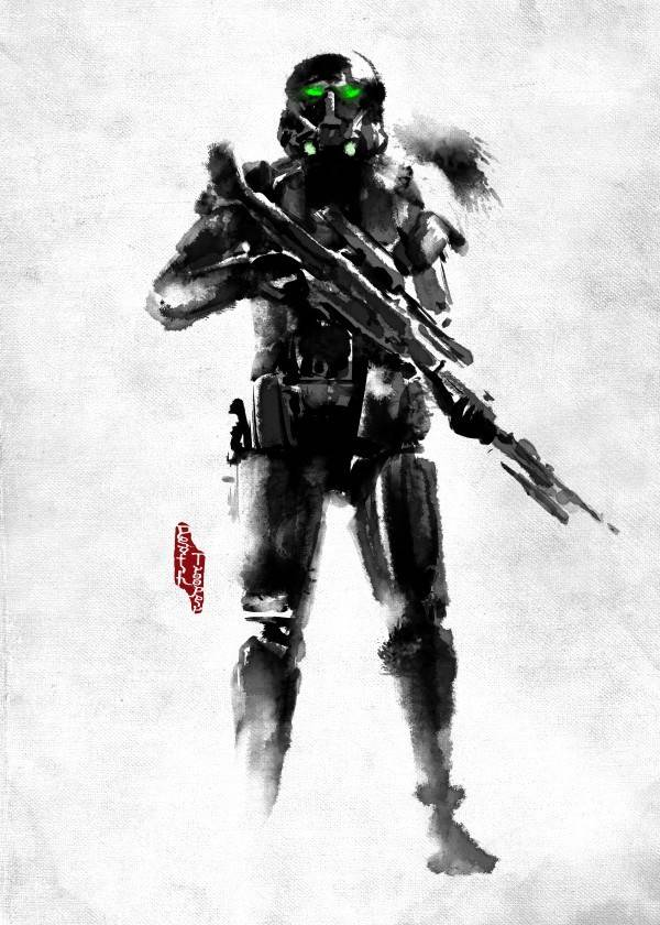 Star Wars Death Trooper - Rogues Artbook - Displate