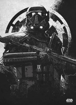 Star Wars Death Trooper - Rogue One Gray Morality - Displate